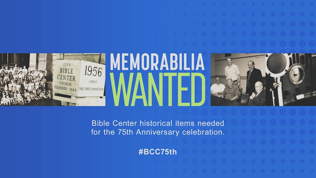 BCC Memorabilia Wanted