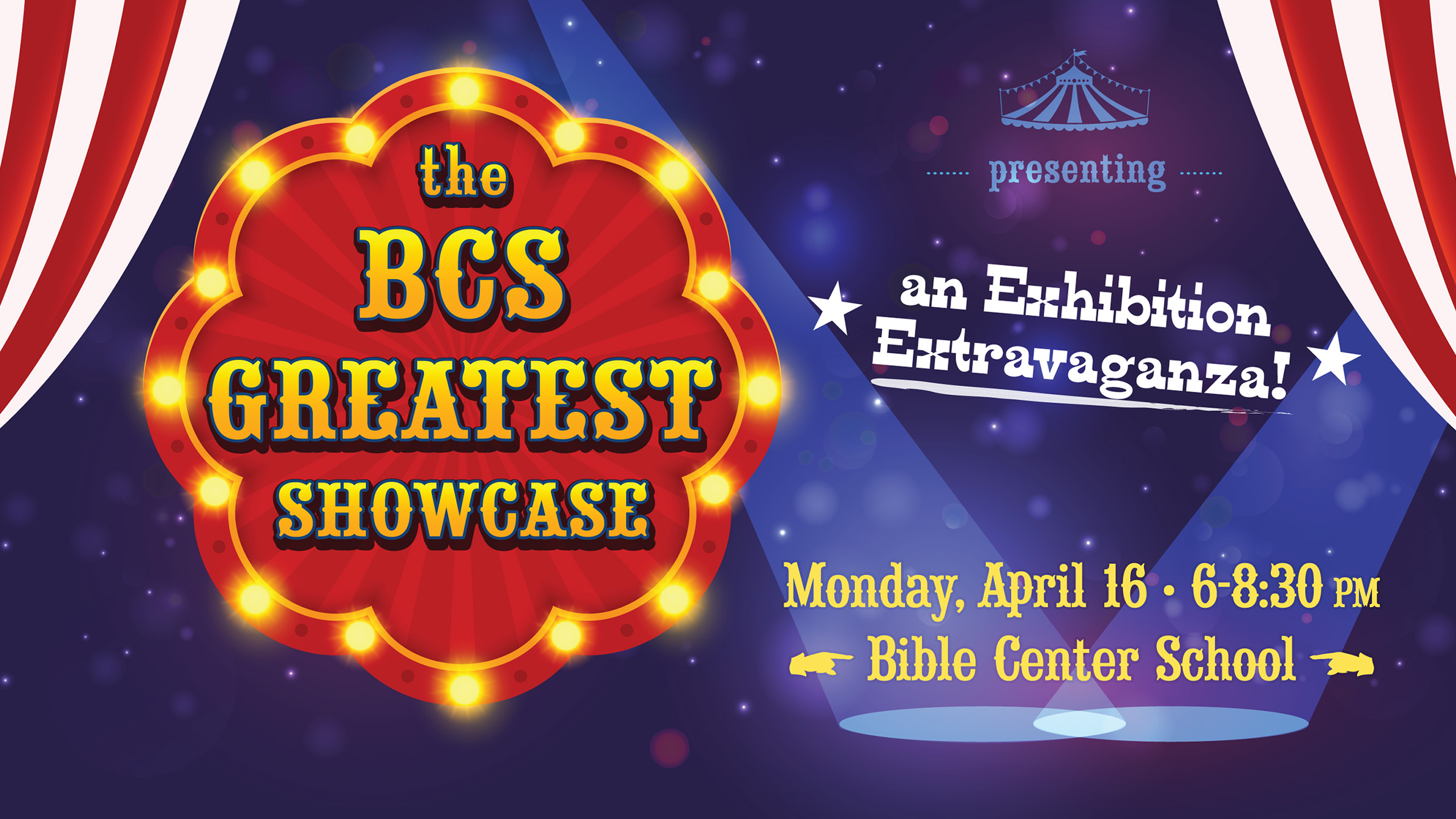 The Bible Center School Greatest Showcase