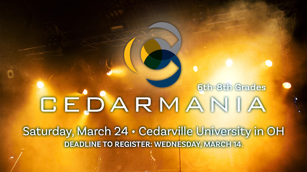 Cedarmania (6th-8th Grades)