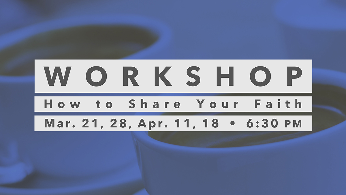 March/April Workshop