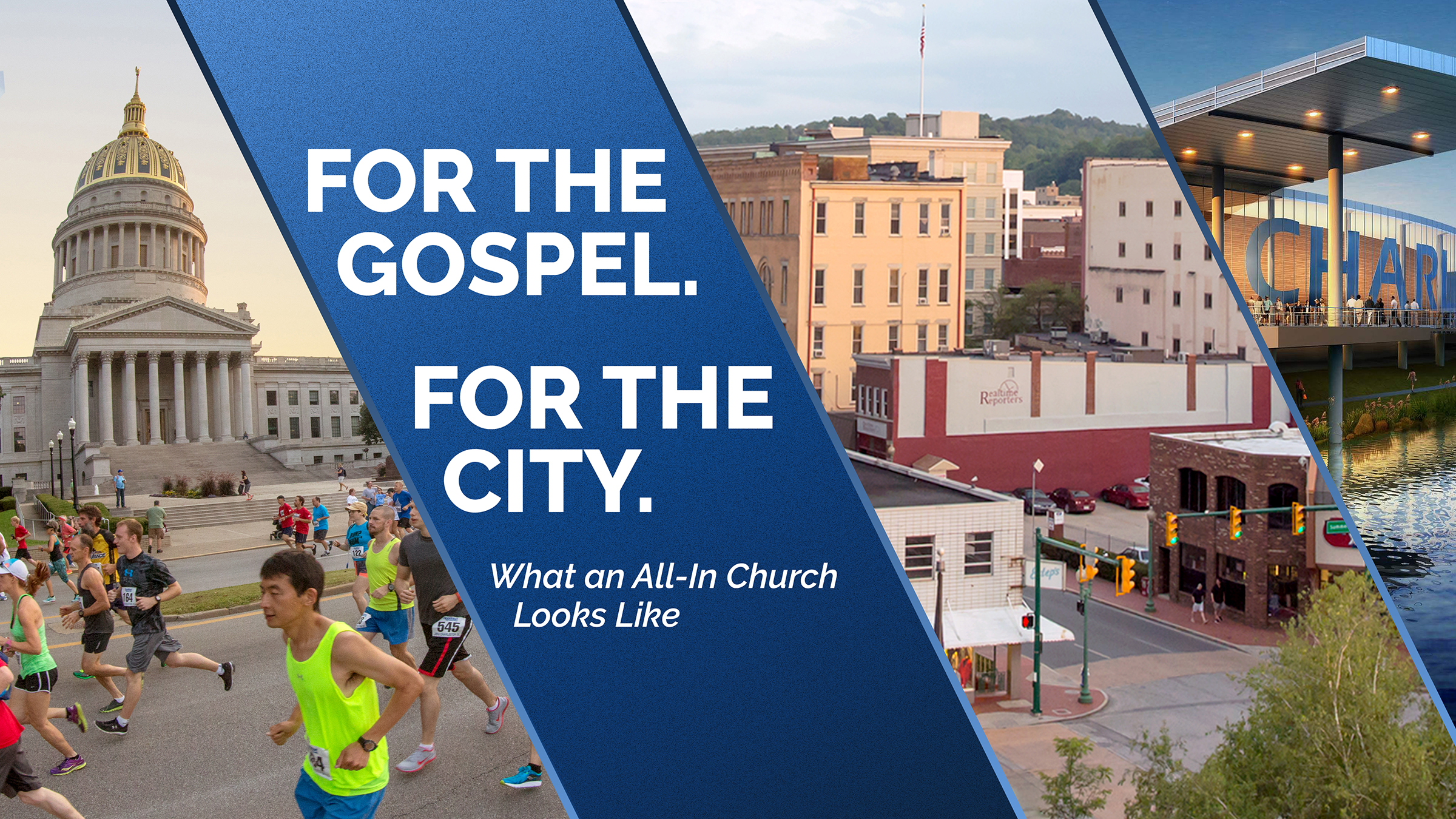 For the Gospel. For the City.