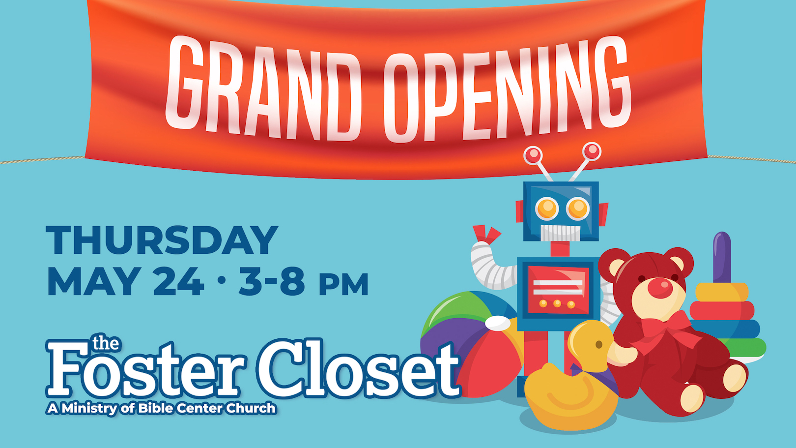 The Foster Closet – Grand Opening