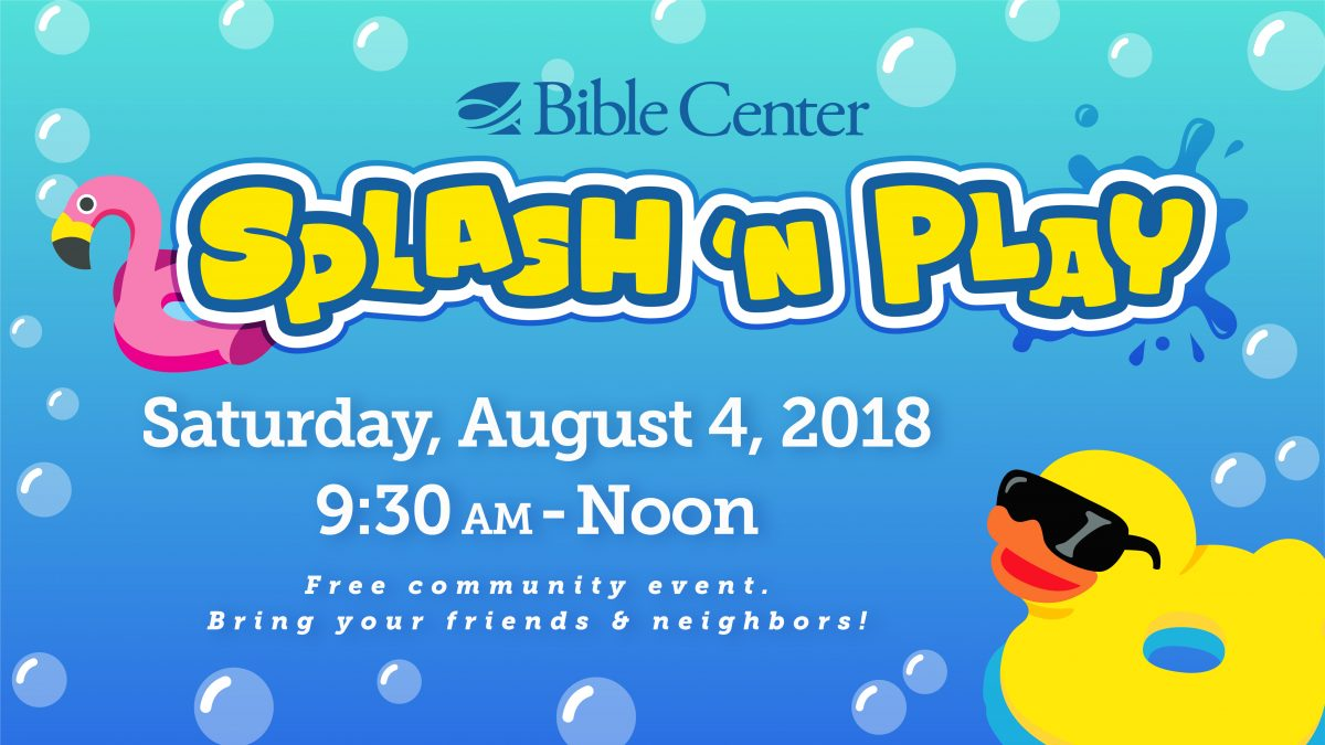 Community Splash 'n Play Volunteers
