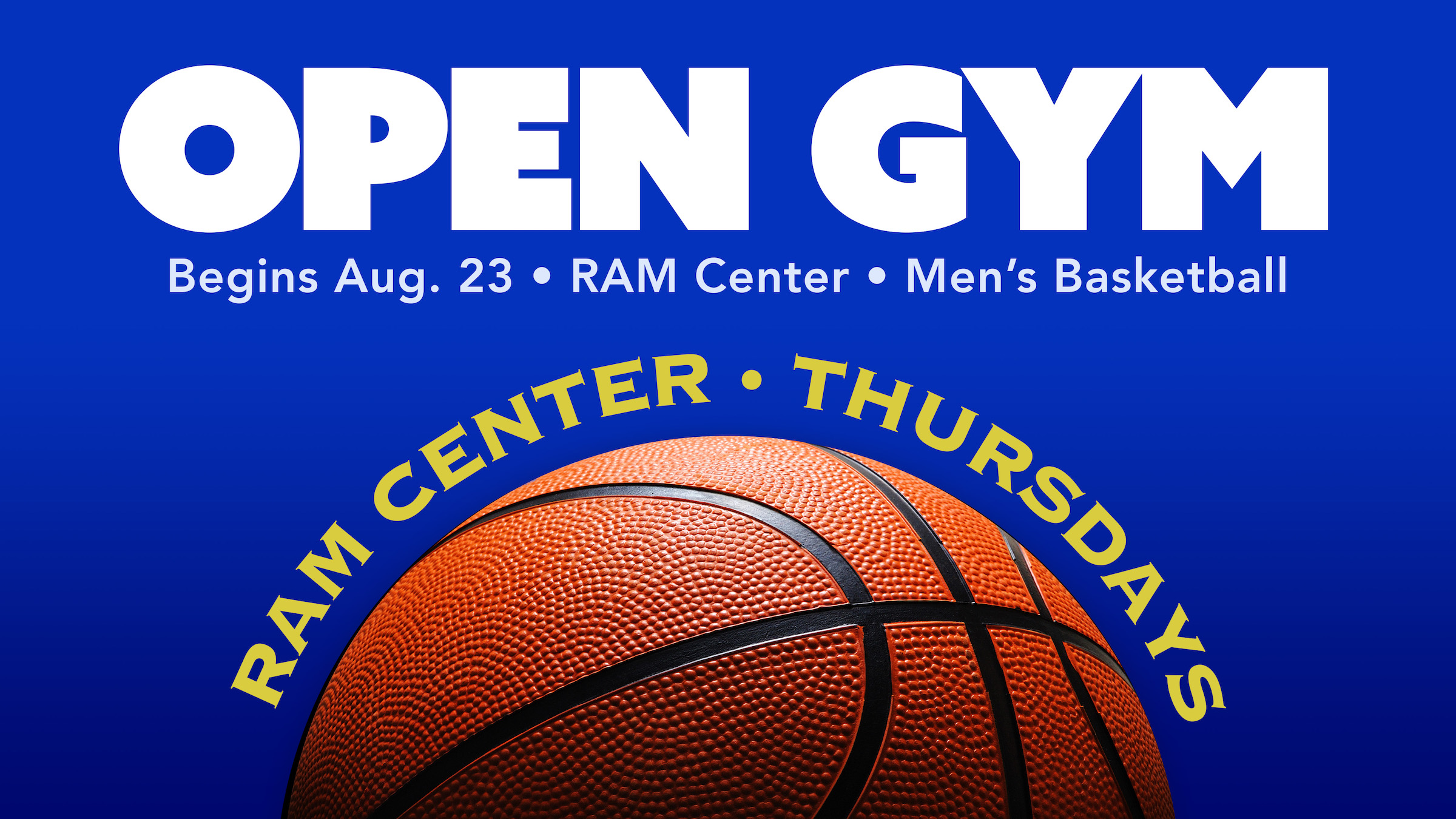 Open Gym Thursdays This Fall