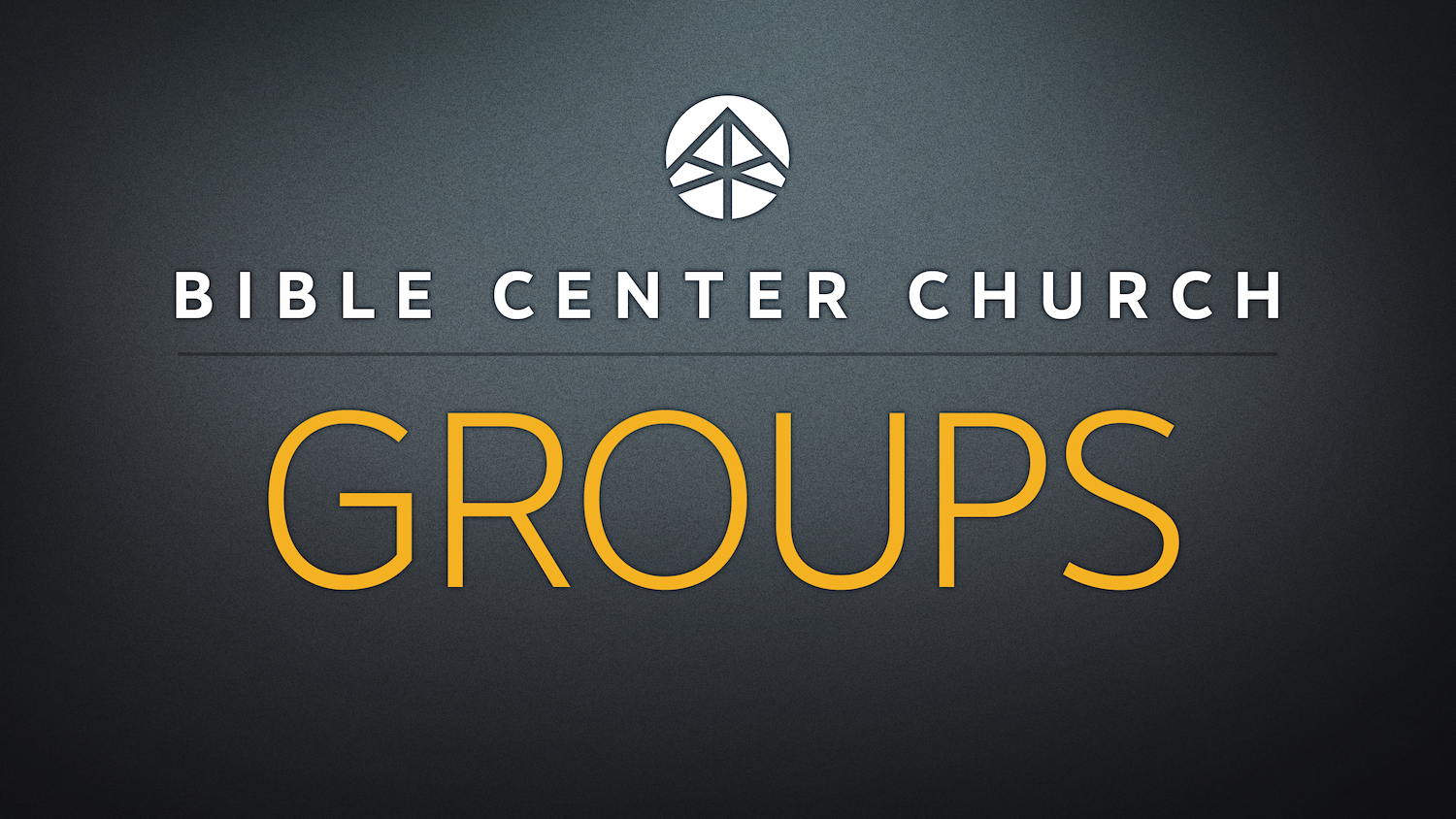 Opportunities for Sunday Groups Resume
