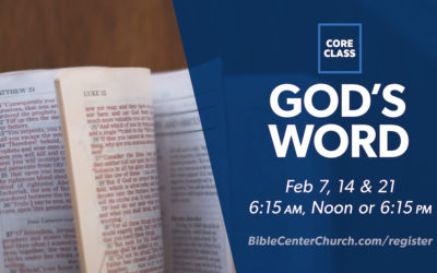 Core Class: God's Word