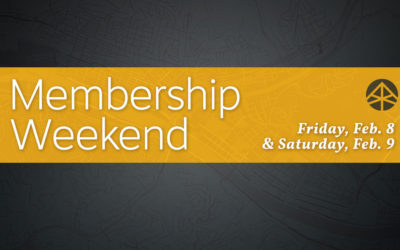 Belong: Membership Weekend