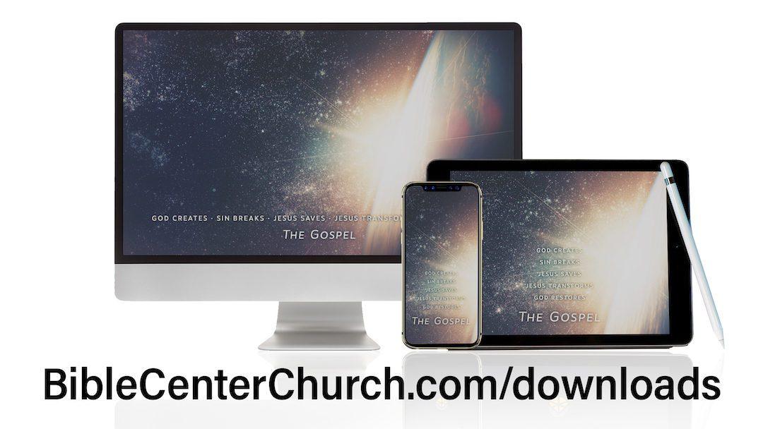 Downloads: The Gospel in 10 Words