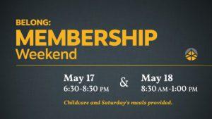 18 Membership Weekend