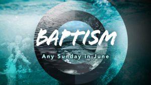19 Baptism June