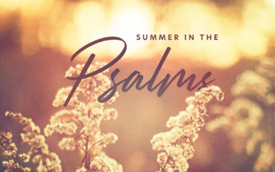 Sermon Series | Summer in the Psalms