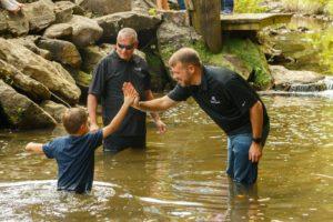 17 Outdoor baptism