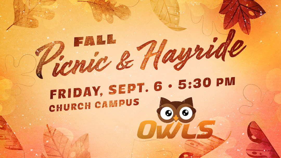 OWLS Fall Picnic & Hayride (Adults 55+)