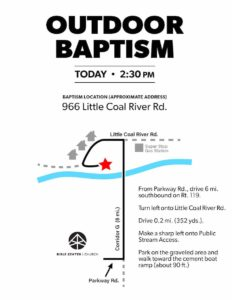 19 Outdoor Baptism Flyer (Little Coal R) 2