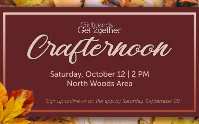 Fall Crafternoon (Girlfriends Get 2gether)