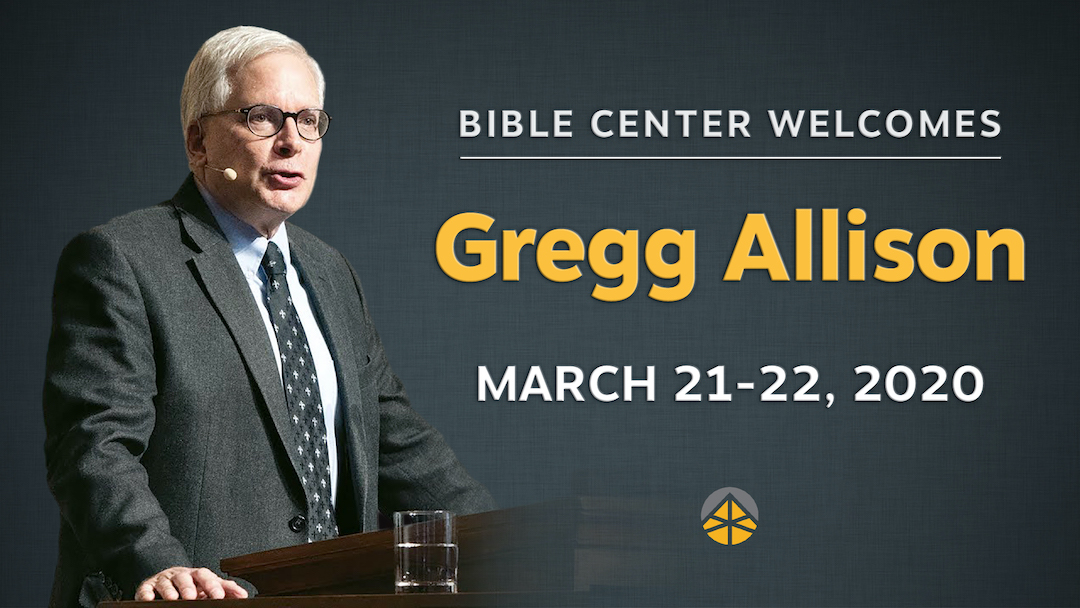 Save the Date: Guest Speaker Dr. Gregg Allison