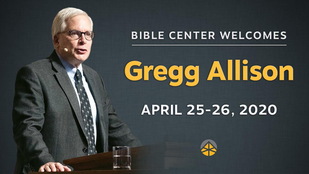 Save the Date: Guest Speaker Dr. Gregg Allison