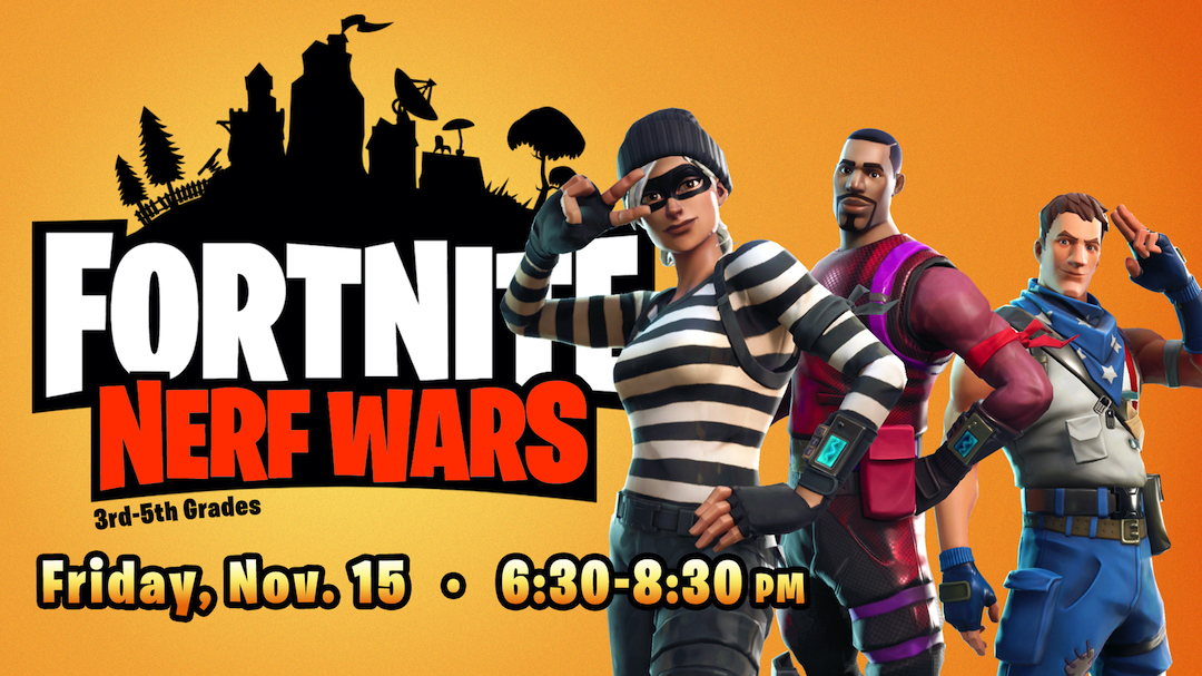Fortnite Nerf Wars (3rd-5th)