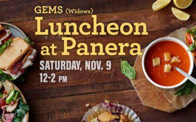 GEMS Luncheon (Widows)
