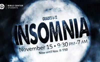 Insomnia (Middle & High School)