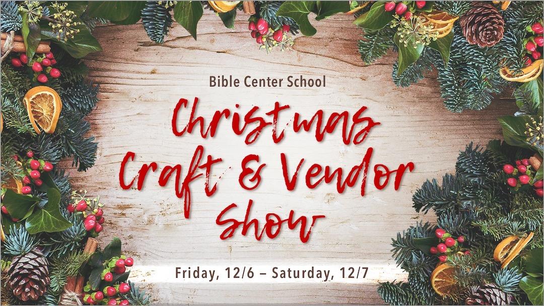 BCS Christmas Craft & Vendor Show