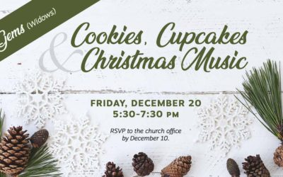 GEMS Cookies, Cupcakes & Christmas Music