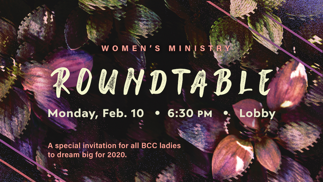 Women's Ministry Roundtable
