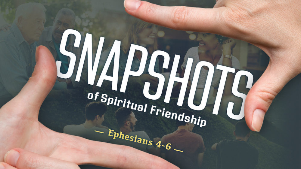 Snapshots of Spiritual Friendship