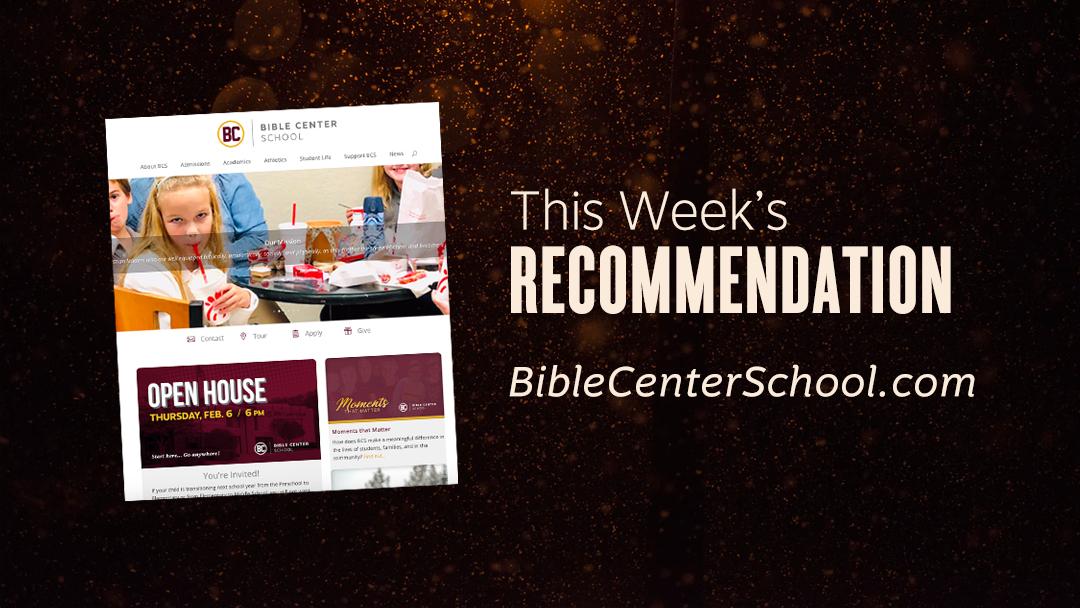 Bible Center School Website