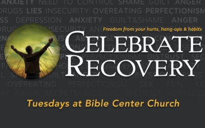Celebrate Recovery: New Time & Meal