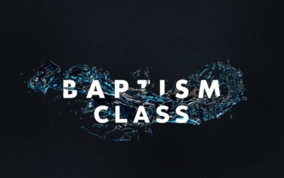 Baptism Classes – POSTPONED
