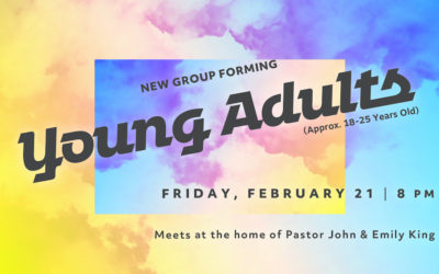 New Young Adults Group