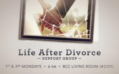 DivorceCare Starts Monday