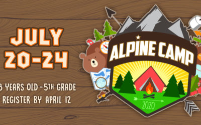 Alpine Camp Registration (8 yrs. – 5th Grade)