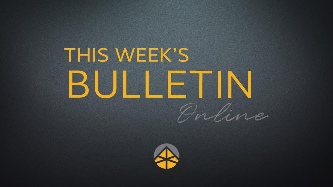 Bulletin (April 5, 2020)