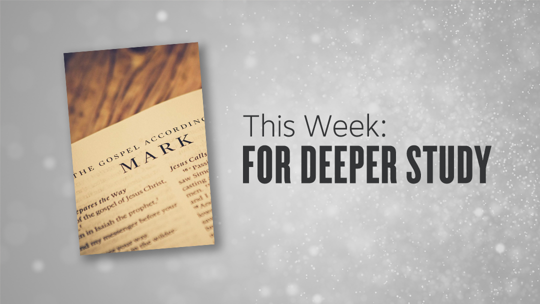 Resource | The Book of Mark