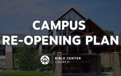 Campus Re-Opening Plan