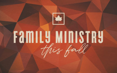 Fall in Family Ministry