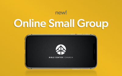 New Online Small Group