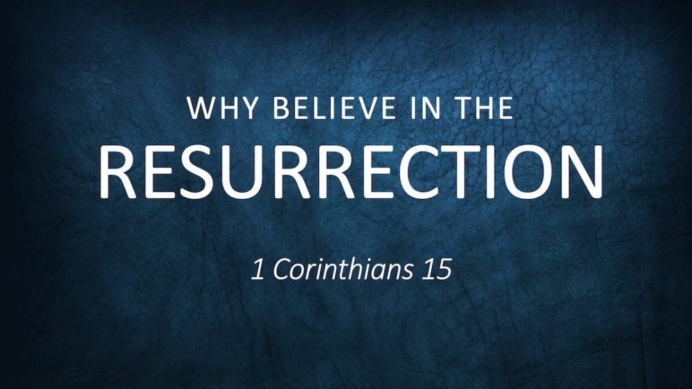 Why Believe in the Resurrection Image