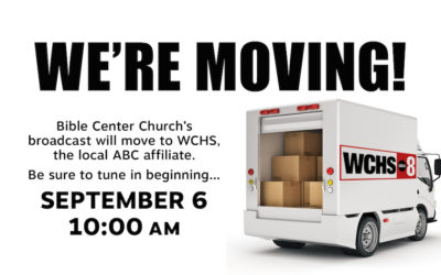 Sunday Morning Service Moving to WCHS