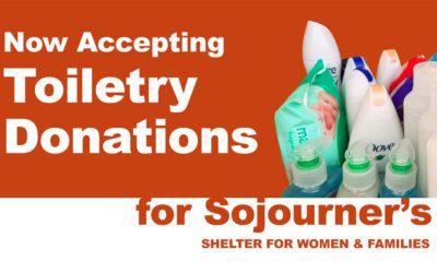 Sojourner's Shelter: Items Needed