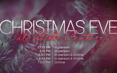 Christmas Eve Services | Reserve your seats today!