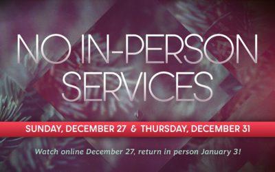 December 27 | All Services Virtual