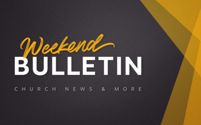 Weekend Bulletin (January 21-24, 2021)