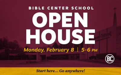 Bible Center School Open House