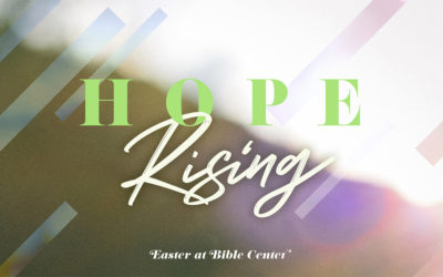 You're Invited to Easter at Bible Center!