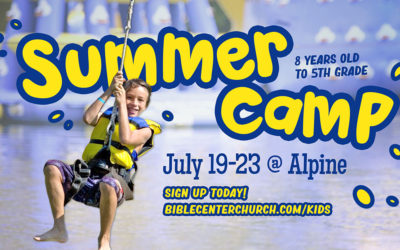 Alpine Camp Registration (8 yrs.-5th Grade)