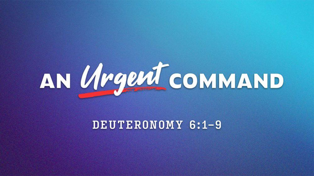 An Urgent Command Image
