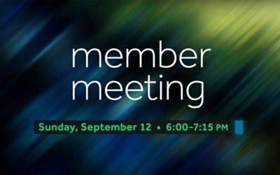 Fall Member Meeting